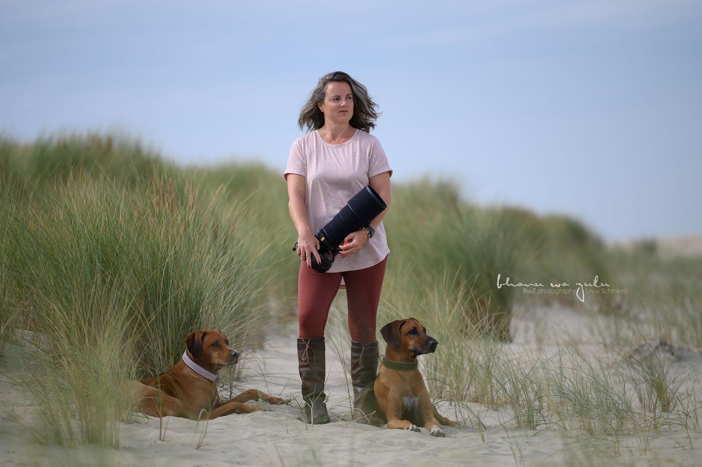 Bild mit Kamera, Tierfotografin, Silvia Schinkels